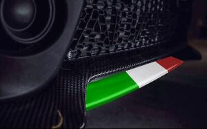 NEU: Abarth 595 Spoilerlippe Aufkleber in 5 Farben erhältlich! TRICOLORE