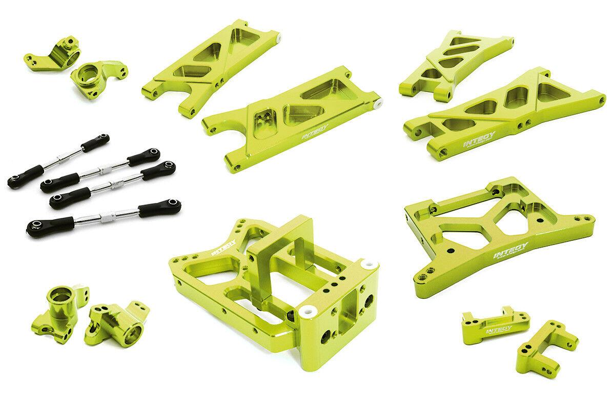 Integy rc c26738Grün bearbeiteten suspension kit fr hpi 1   10 jumpshot mt, sk & st.