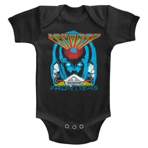 Journey Frontiers Album Cover Baby Body Suit Alien Rock Concert Infant Romper