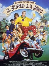 """A FOND LA FAC (BACK TO SCHOOL)"" Affiche originale (Rodney DANGERFIELD)"