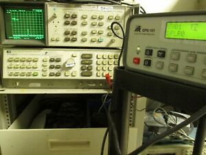 IFR-GPS-101-GPS-Signal-Generator-Tester-TESTED-WORKING-Front-cover-included