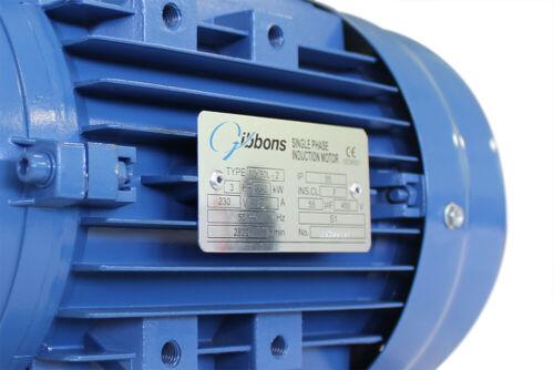 De una sola fase Motor Eléctrico 1.1 Kw 2 polos 3000 Rpm Condensador Start 50 Hz 230 V
