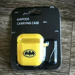 Batman Genuine Airpods Case Silicon Cover Skin With Carabiner For Apple Airpods Ebay