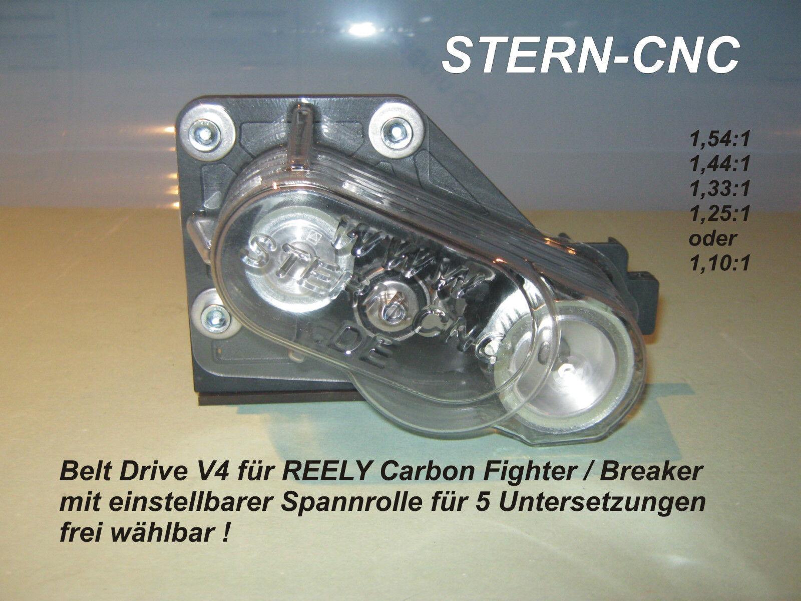 Belt Drive V4 Reely Carbon Fighter Breaker Breaker Breaker Adjustable for 5 Untersetzungen 2fb446