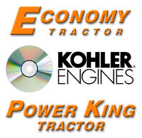 economy power king jim dandy manuals on dvd look look power king economy tractor kohler engine manuals cd 37 manuals 2616 pages