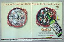 C282-Advertising Pubblicità-1998- OLIO CARLI ECCEZIONALE QUALITA' EXTRA VERGINE