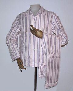 352be43c53 Das Bild wird geladen Dreiklang-Herren-Schlafanzug-48-Pyjama-DDR-80er-TRUE-