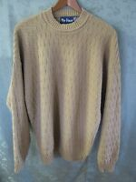 Par Four Size Large Geometric Weave Sweater Made In Usa