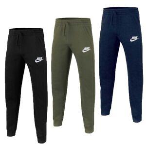 Nike Boys Tracksuit Kids Full Zip Junior Bottoms Sports Football Trouser Tops