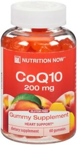 Image Is Loading CoQ10 Adult Gummy Vitamins Nutrition Now 60