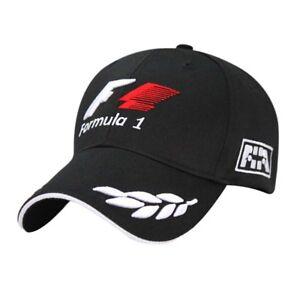 Boys Girls Fashion Baseball Caps F1 Embroidered Motorcycle