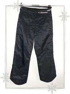 Noir Sur Détails 34 36 2026 Modèle Pantacourt Matelassé Pantalon Brazil Taille 1 5A4R3jL
