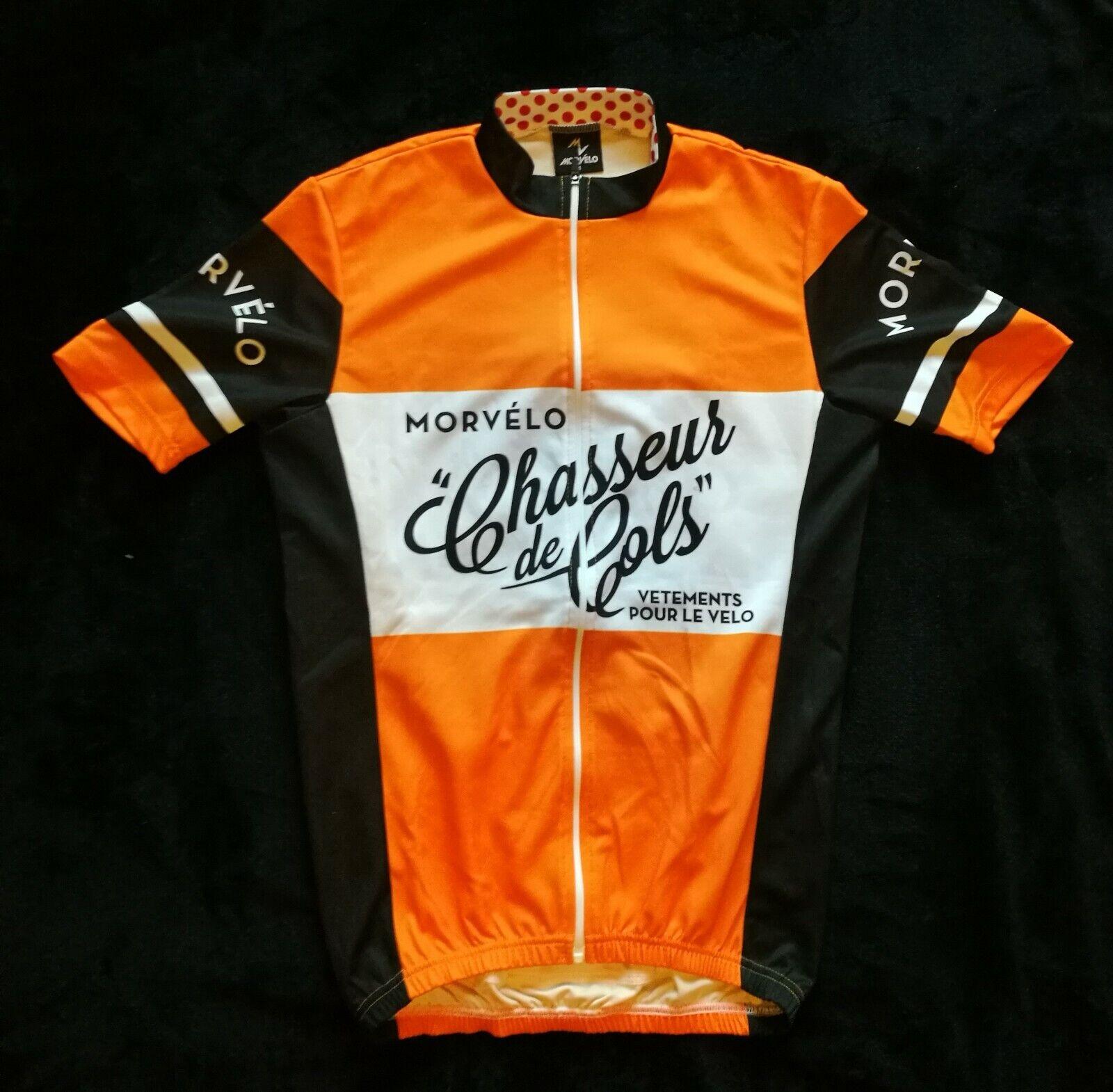 Maglia bici da corsa estiva Morvélo  Chasseurs Chasseurs Chasseurs de Cols Taglis S adf