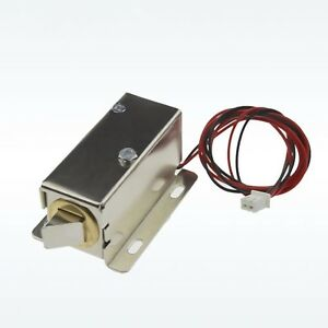 Dc 12v Cabinet Door Electric Lock Assembly Latch Solenoid