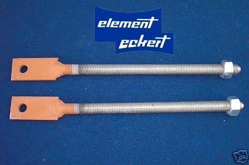 Gewindestangen 12 mm für Zugfeder Garagentorfeder Zugfedern Garagentorfedern NEU