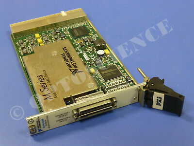 32 Ch Analog Input Multifunction National Instruments NI PXI-6259 NI DAQ Card