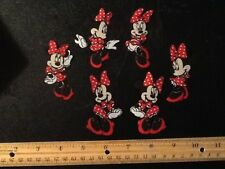 Minnie Mouse Fabric Iron On Appliques - style #3