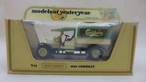1978-Matchbox-Models-of-Yesteryear-Y-13-1918-Crossley-CARLSBERG-DELIVERY-TRUCK