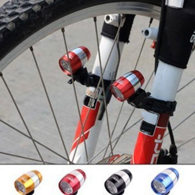 Cycling Bicycle 6 LED Bike White Head Light Mini Safety Lamp Flashlight 2 Modes