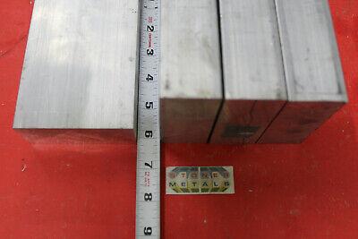 4 Pieces 3//4 X 1-1//2 ALUMINUM FLAT BAR 12 long .750 6061 T6511 Mill Stock