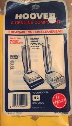 Hoover Senior vide H2 Sacs x5 U4064 U4186 U4274 U4066 C1310 U4296 U4298 U4300
