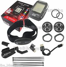 Sigma ROX 11.0 SET GPS w/ Speed Cadence Heart Rate Sensors fits ANT+ Bluetooth