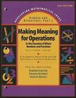 Developing Mathematical Ideas 2009 Numbers and Operations (Part 2) Making Meaning of Operations Facilitators Guide by Dale Seymour Publications (Paperback / softback, 2009)