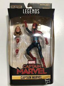 Marvel-Legends-6-034-Captain-Marvel-MCU-New-Sealed-Brie-Larson-Kree-Action-Figure