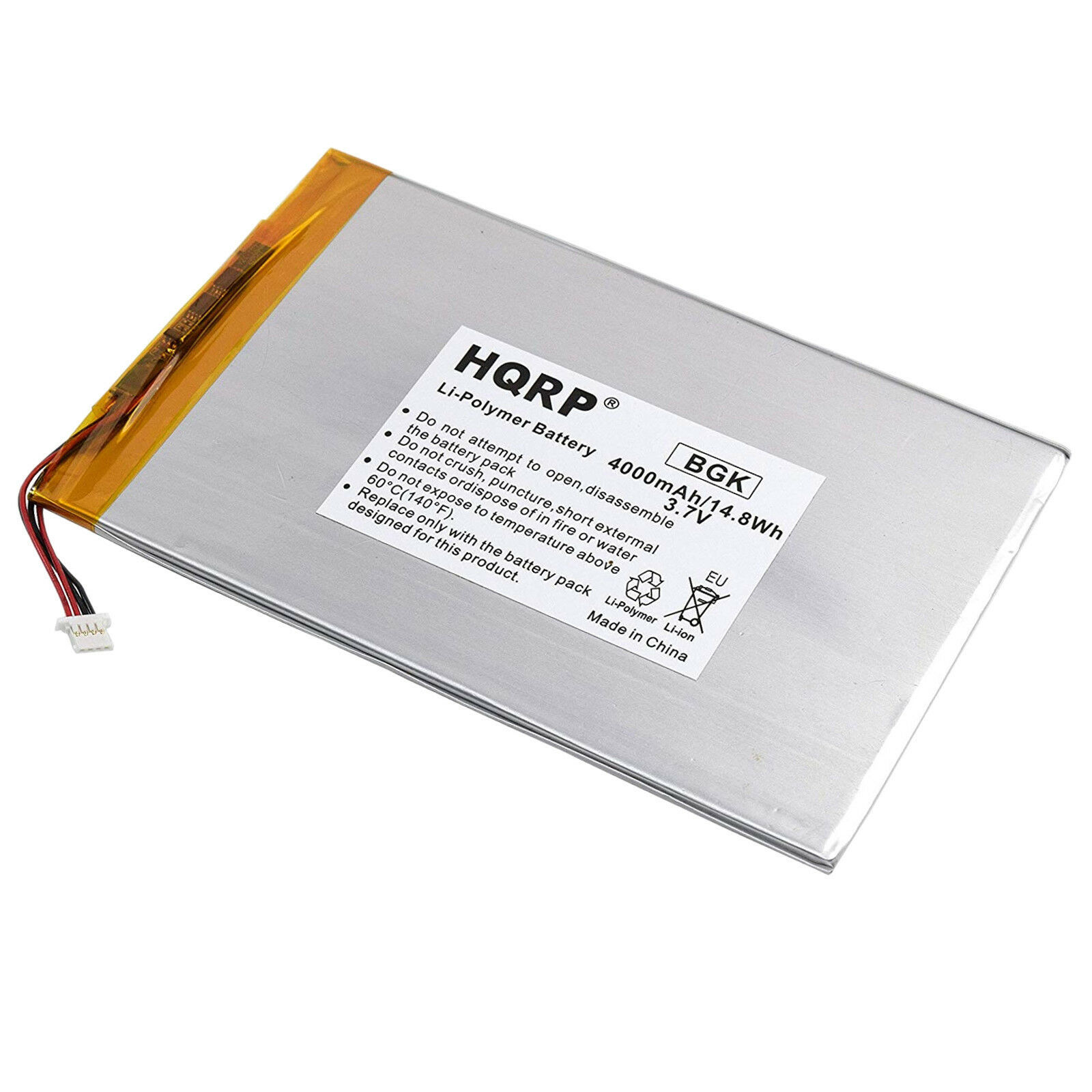 "HQRP Battery for RCA 10/"" Viking Pro RCT6303W87 RCT6303W87DK RCT6K03W13 Tablet"