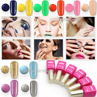 15ml Nail Art Soak Off Polish UV Glitter Color Gel LED Lamp Tips Decoration GM1