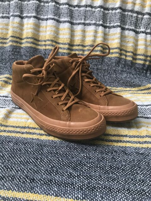 Converse One Star Mid Counter Climate Brown Raw Sugar Gum SNEAKERS US 8 RARE for sale online | eBay