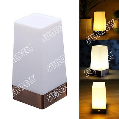 NEW! Square Motion Sensor LED Night Light Motion Activated LED Bedside Lamp