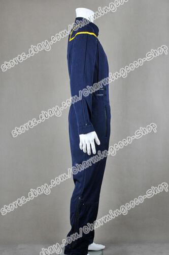 Star Trek Cosplay James T Kirk Enterprise Jumpsuit Jonathan Archer Costume Nice
