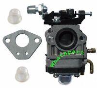 Carburetor W/gasket, 2 Primer Bulb For Redmax Eb7000 Eb7001 Eb4300 Eb4400 Eb431