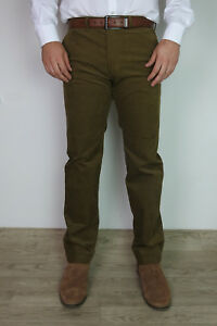 Mens-Ex-M-amp-S-Corduroy-Trousers-Straight-Fit-With-Added-Stretch