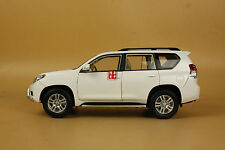 1/18 NEW Toyota Landcruiser Land Cruiser Prado white color + gift