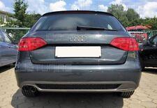 Audi A4 B8 8K Diffusor Tuning Heckdiffusor S-Line Look Spoiler Diffusor