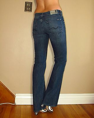 $169 Seven 7 For All Mankind Original Classic Bootcut Jeans Dark Vintage TOLB 28