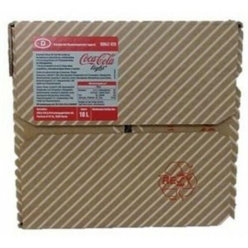 Nachfüllbehälter für Minipom ® gebraucht inkl 10L Coca Cola® Postmix BiB Sirup