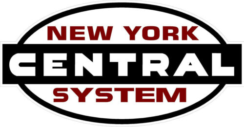 "#771 3/"" New York Central Railroad Train Decal Sticker Laminated O scale 1"