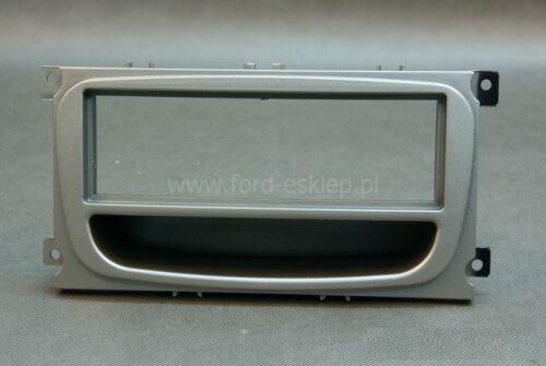 Ford Mondeo BA7 Focus C307 Galaxy WA6 Radio Blende silber ISO Adapter Quadlock