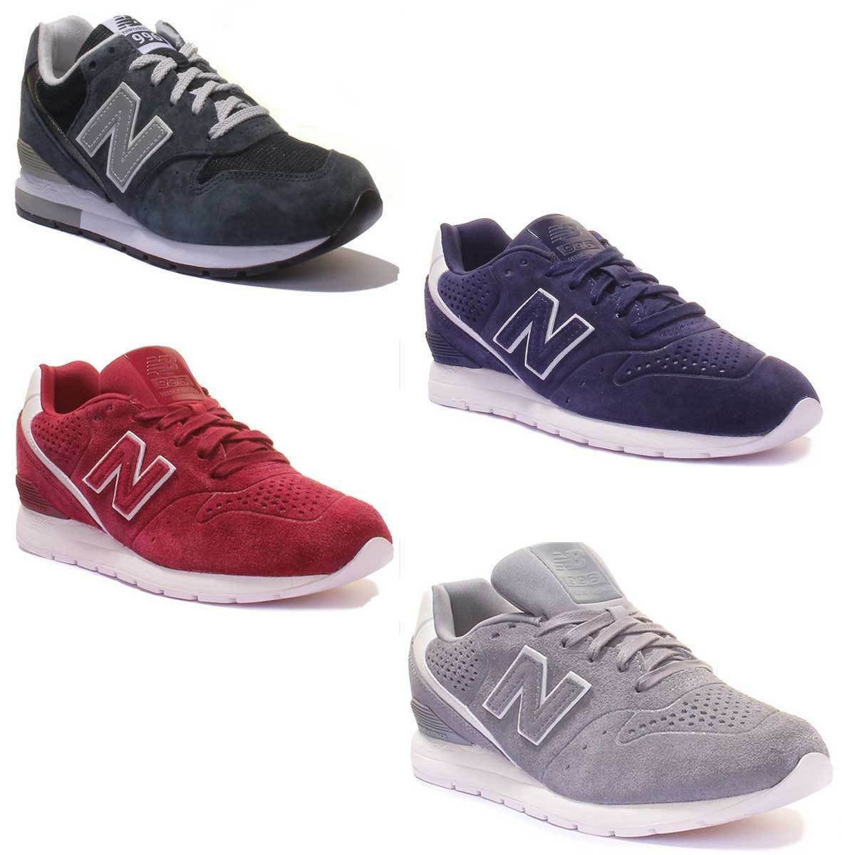 New Balance MRL996 Unisex Suede Leather Trainers