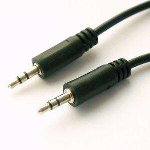 0-2m-Audio-Kabel-20cm-kurz-2x-Klinkenstecker-3-5mm-Klinke-Stecker-AUX-HiFi