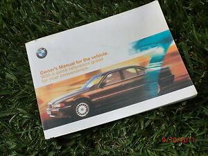 1999 2001 bmw e38 original owner owner s manual book 740il 740i 740 rh ebay com 2000 bmw 740il service manual BMW 740 Lowered