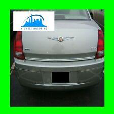 2005 2010 Chrysler 300 300c Precut Chrome Trunk Trim Molding With5yr Warranty Fits Chrysler 300