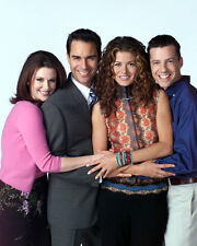 Will and Grace [Cast] (1872) 8x10 Photo