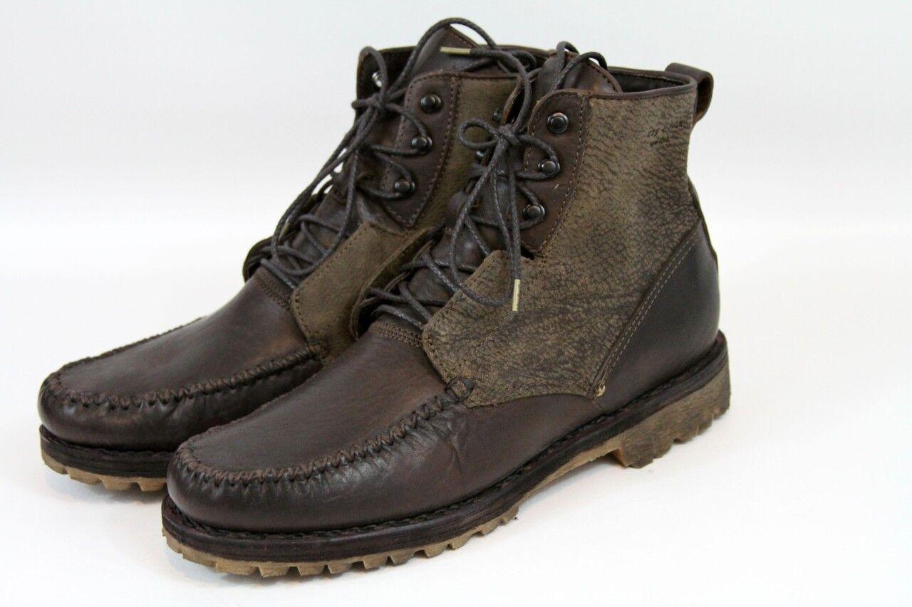 =Rag & Bone Anders Lug Heel Brown Ankle Boots 10
