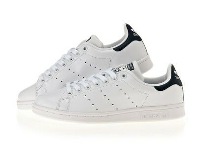 ADIDAS STAN SMITH SHOES COLOR WHITE//BLUE STYLE M20325
