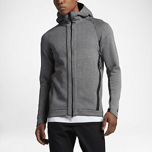 0f01c6fbf612 Nike Sportswear Tech Fleece Men s Full-Zip Hoodie 832112 091 Grey ...