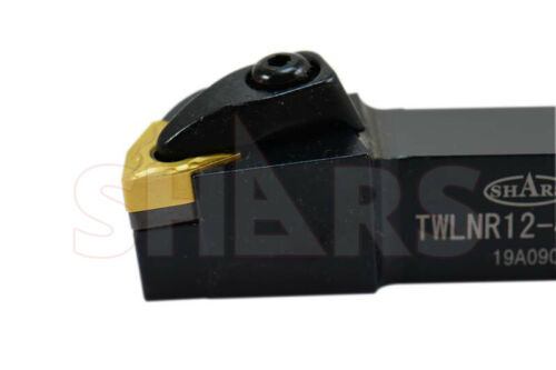 "SHARS 3//4/"" TWLNR T-Type Clamp INDEXABLE RIGHT HAND TURNING TOOL HOLDER WNMG  P"